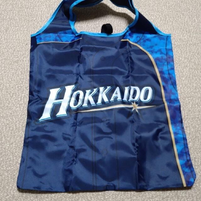 日本ハムファイターズ エコバッグ スポーツ/アウトドアの野球(記念品/関連グッズ)の商品写真