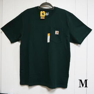カーハート(carhartt)のCarhartt グリーン Tシャツ/M(Tシャツ/カットソー(半袖/袖なし))