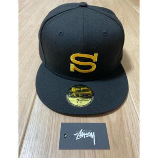 ステューシー(STUSSY)のSTUSSY × NEWERA Sロゴキャップ 58.7cm(キャップ)