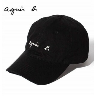 アニエスベー(agnes b.)の新品未使用アニエスベー キャップ ブラック(キャップ)