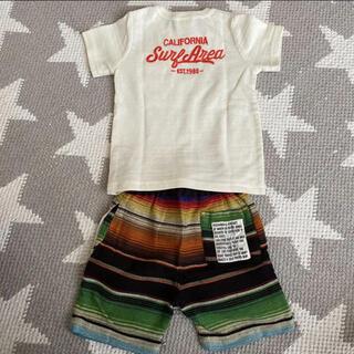 シマムラ(しまむら)の上下セット Tシャツ ハーフパンツ 男の子 夏 surf(Tシャツ/カットソー)