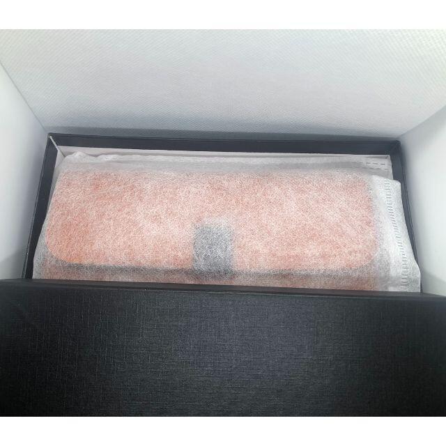 牛革 レディース メンズ ホック式 長財布 ブラウン レディースのファッション小物(財布)の商品写真