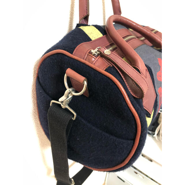 Vivienne Westwood(ヴィヴィアンウエストウッド)のVivienne Westwood ウール サティア 2way ドラム型 レディースのバッグ(ショルダーバッグ)の商品写真