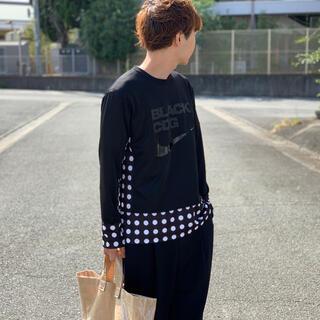 ブラックコムデギャルソン(BLACK COMME des GARCONS)のBLACK Comme des Garcons Long sleeve T(Tシャツ/カットソー(半袖/袖なし))