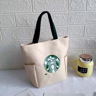 Starbucks Coffee - 【スターバックス海外限定】日本未発売 トートバック エコバッグ 白色 一点