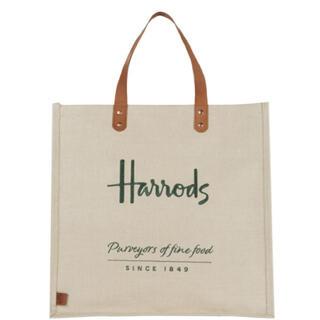 ハロッズ(Harrods)のハロッズ トートバッグ ショッピングバッグ エコバッグ 新品(トートバッグ)
