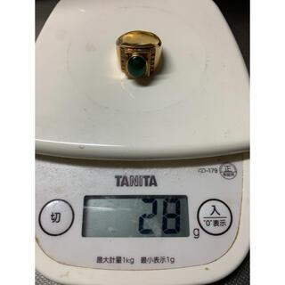 純金 k18 アクセサリー 指輪 メンズ レディース ダイヤモンド 翡翠