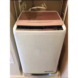 ヒタチ(日立)の【動作確認済】日立 洗濯機 7kg BW-7WV(P) ビートウォッシュ(その他)