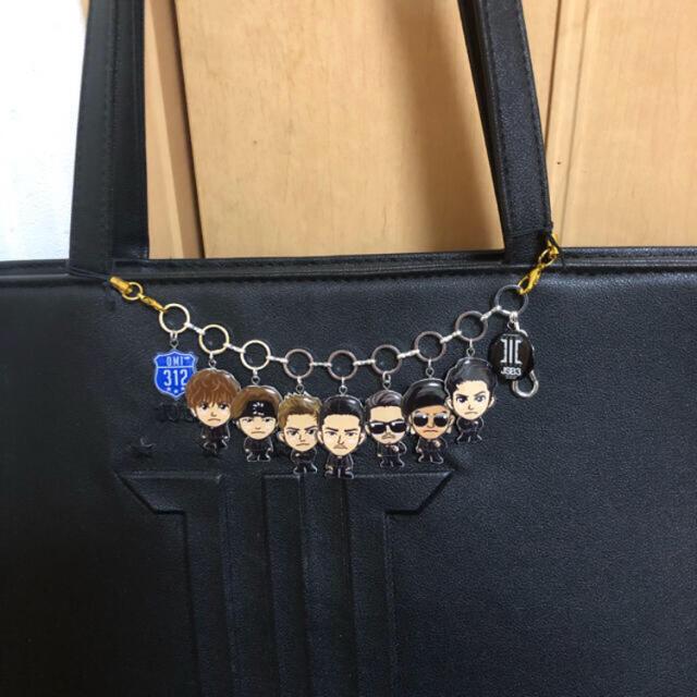 三代目 J Soul Brothers(サンダイメジェイソウルブラザーズ)の★バッグチャーム ハンドメイドのファッション小物(バッグチャーム)の商品写真
