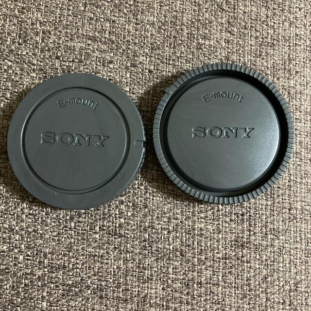 SONY(ソニー)のSONY αEマウント用ボディキャップ レンズリアキャップセット ソニー NEX スマホ/家電/カメラのカメラ(その他)の商品写真