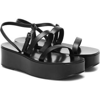 ステラマッカートニー(Stella McCartney)の希少!THEROW platform leather sandals(サンダル)