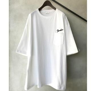 NUMBER (N)INE - ナンバーナイン ビックシルエットTシャツ 別注 ロゴ 刺繍 入手困難 即購入可