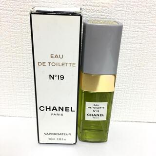 シャネル(CHANEL)のシャネル CHANEL N°19EDT 香水 パフューム100ml フレグランス(ユニセックス)
