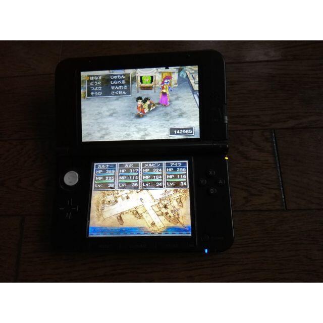 任天堂(ニンテンドウ)の【中古】 ニンテンドー 3DSLL本体 エンタメ/ホビーのゲームソフト/ゲーム機本体(携帯用ゲーム機本体)の商品写真