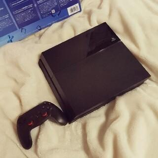 PlayStation4 - PlayStation 4ジェット・ブラック500GBプレステ本体コントローラー
