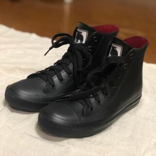 mozモズ レインブーツ レインスニーカー 黒 長靴 Lサイズ 美品