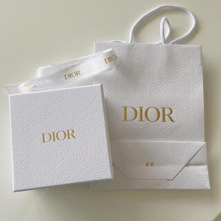 ディオール(Dior)のディオール♡ショッパー&リボン&空箱セット(ショップ袋)