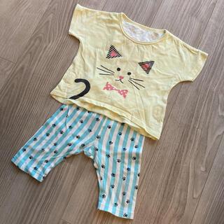 アカチャンホンポ(アカチャンホンポ)の半袖 ベビーパジャマ 80センチ(パジャマ)