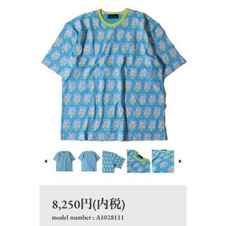 アールディーズ(aldies)のALDIES🐍アールディーズ🐍Kabuki Big T👕ターコイズ(Tシャツ/カットソー(半袖/袖なし))