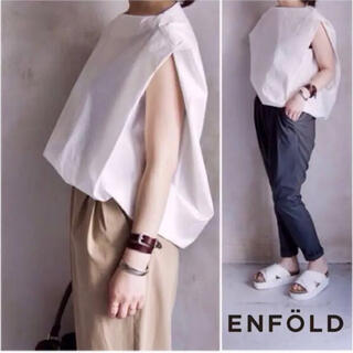 ENFOLD - 【ENFOLD】ソルトブロードコクーンプルオーバー
