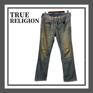 トゥルーレリジョン(True Religion)のTrue Religion トゥルーレリジョン ダメージ ジーンズ デニム(デニム/ジーンズ)