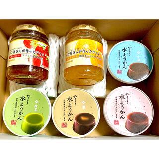 ヤマザキセイパン(山崎製パン)の謹製 水ようかん と 瓶入りジャム 詰め合わせ  山崎製パン(菓子/デザート)