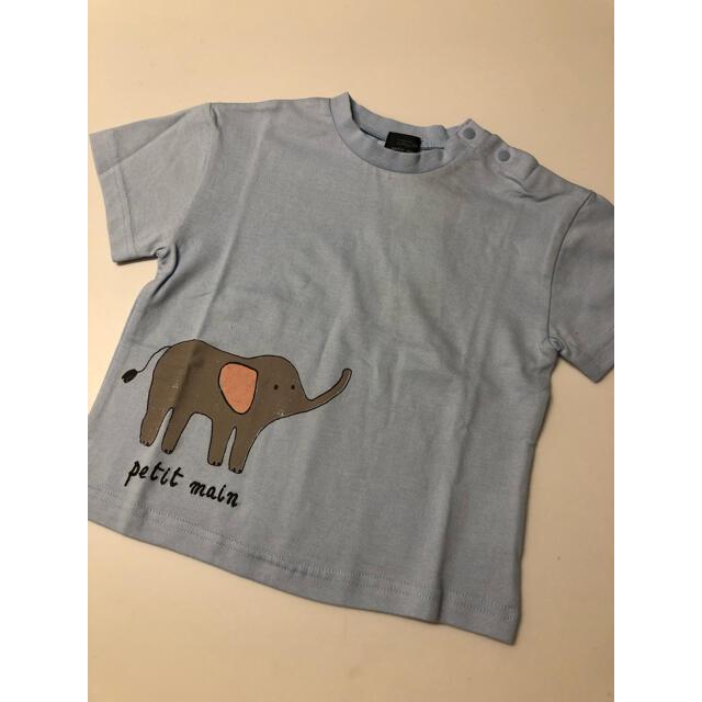 petit main(プティマイン)のpetit main オーガニックコットン アソートプリントTシャツ キッズ/ベビー/マタニティのキッズ服男の子用(90cm~)(Tシャツ/カットソー)の商品写真