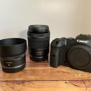 Canon - Canon EOS R6 RF24-105mm + RF50F1.8 セット
