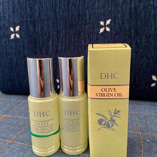ディーエイチシー(DHC)のDHCオリーブバージンオイル新品2本+少々(フェイスオイル/バーム)