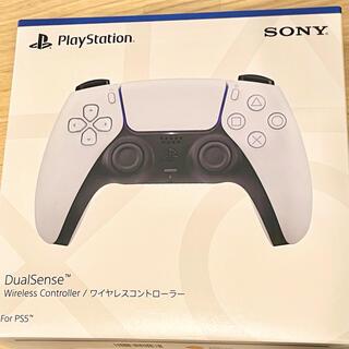 プレイステーション(PlayStation)の【ほぼ新品】デュアルセンス 1つ DualSense ホワイト PS5(その他)