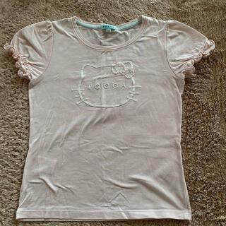 トッカ(TOCCA)の☆TOCCA×Hello kitty Tシャツ サイズ120☆(Tシャツ/カットソー)
