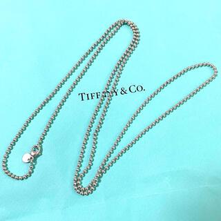 Tiffany & Co. - ティファニー ボールチェーン ロング ネックレス スターリングシルバー925
