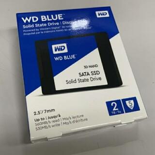 ウエスタンエディション(Western Edition)のWD Blue SSD 2TB 未開封(PC周辺機器)