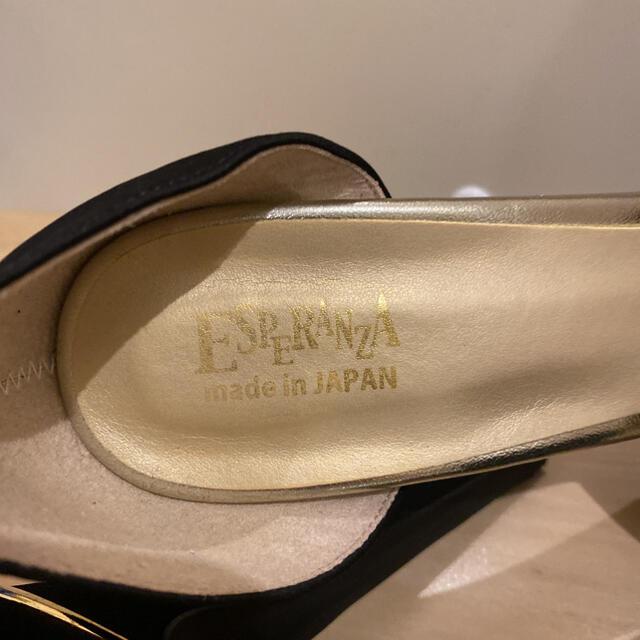 ESPERANZA(エスペランサ)の☆ サンダル パンプス 黒 ハイヒール パーティー キャバ レディースの靴/シューズ(ハイヒール/パンプス)の商品写真