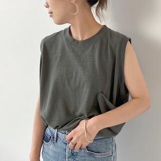 プラージュ(Plage)の美品♡プラージュ PlageTC タンクトップ◆ Tシャツ ノースリーブ(Tシャツ(半袖/袖なし))