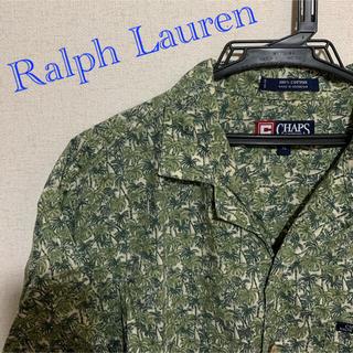 ラルフローレン(Ralph Lauren)の【USA古着】 Ralph Lauren CHAPS アロハシャツ 総柄(シャツ)