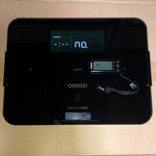 オムロン(OMRON)のオムロン 体重体組成計と活動量計のセット ブラック(体重計/体脂肪計)
