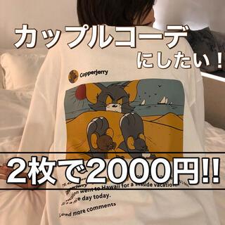【限定販売】トムとジェリー Tシャツ キャラクター オルチャン