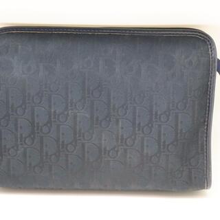 クリスチャンディオール(Christian Dior)のクリスチャンディオール トロッター柄 セカンドバッグ ヴィンテージ(クラッチバッグ)