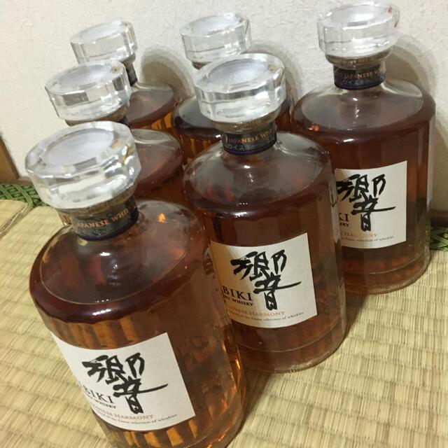 サントリー(サントリー)の響 ジャパニーズハーモニー 6本 食品/飲料/酒の酒(ウイスキー)の商品写真