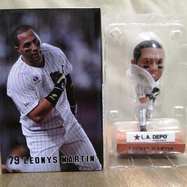 千葉ロッテマリーンズ マーティン ボブルヘッドドール スポーツ/アウトドアの野球(記念品/関連グッズ)の商品写真