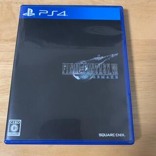 ファイナルファンタジーVII リメイク PS4