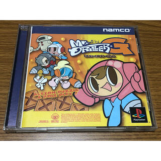 プレイステーション(PlayStation)のミスタードリラーグレート プレイステーションソフト(家庭用ゲームソフト)