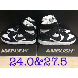 AMBUSH - AMBUSH NIKE DUNK HIGH BLACK アンブッシュ ダンク