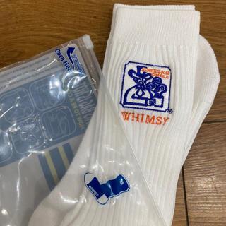 BEAMS - 新品 Whimsy Socks × コメダ珈琲店 Emjay Socks