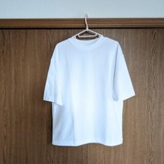 UNIQLO - UNIQLO U エアリズムコットンオーバーサイズTシャツ(5分袖)
