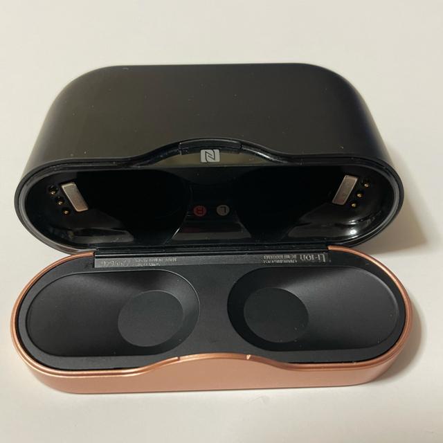 SONY(ソニー)の【美品】WF-1000XM3 スマホ/家電/カメラのオーディオ機器(ヘッドフォン/イヤフォン)の商品写真