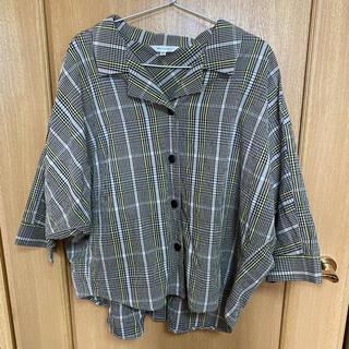 マウジー(moussy)のシャツ 五部袖 マウジー(カットソー(半袖/袖なし))