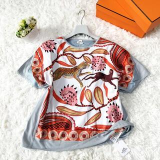 エルメス(Hermes)の未使用 HERMES エルメス アニマル トップス シャツ(Tシャツ(半袖/袖なし))