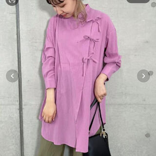 IENA - FREDY REPIT チャイナディテールシャツ